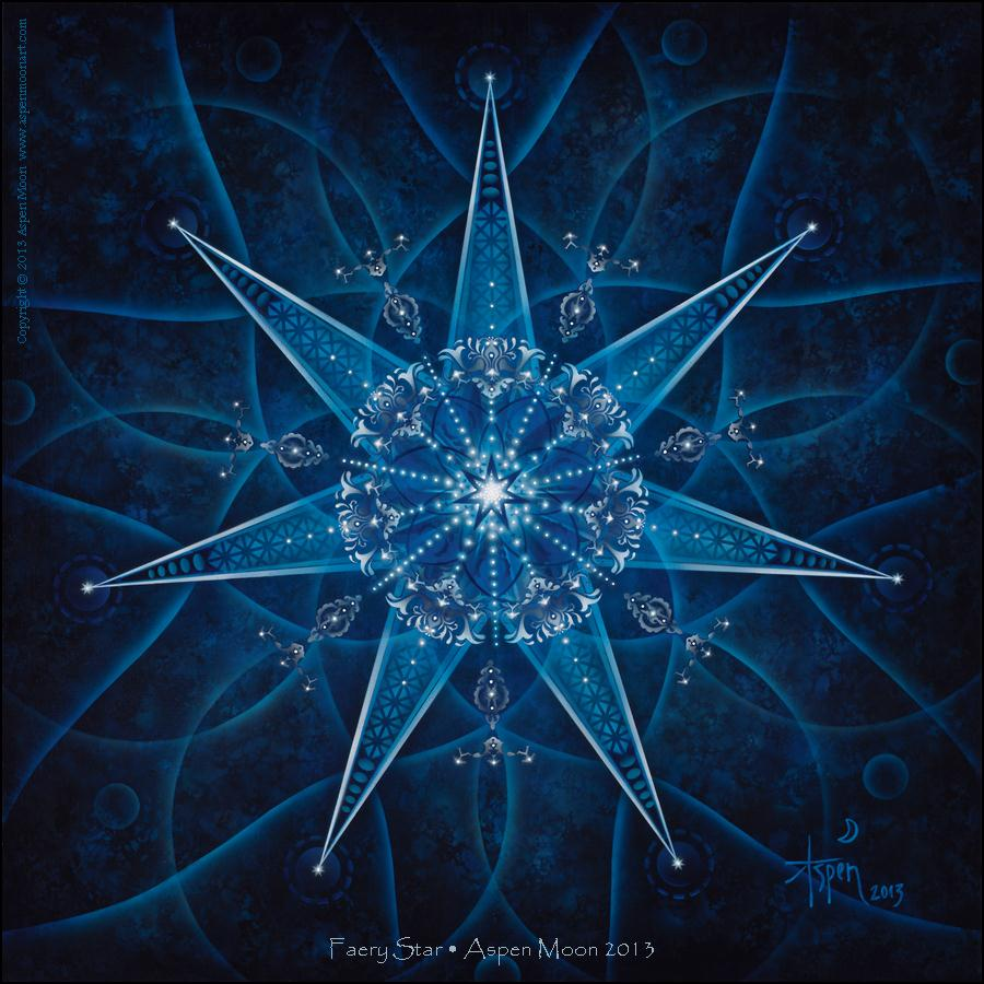 Faery Star – Sticker