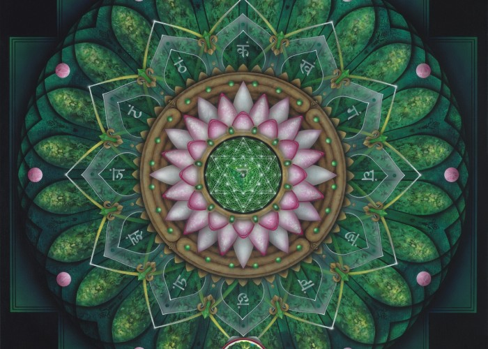 Mandala Mystique – Month long show of Aspen Moon's Art